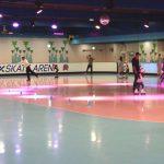 Diet on roller skating! Tokyo Dome City - Roller Skate Arena