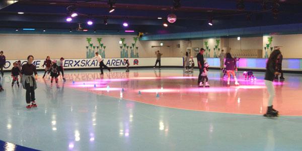 Diet on roller skating! Tokyo Dome City – Roller Skate Arena