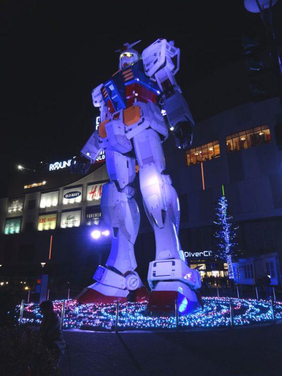 07_ガンダム立像があるダイバーシティ東京でうる星やつら、めぞん一刻、犬夜叉のお酒を発見!