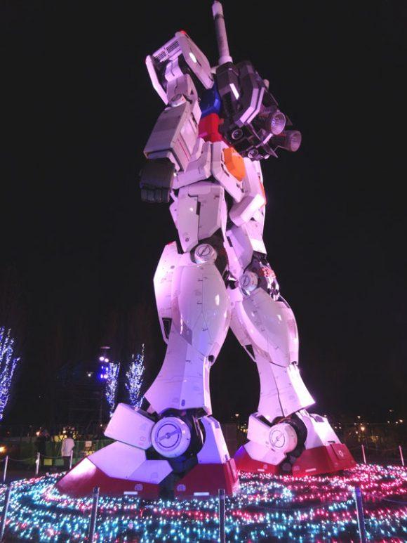 08_ガンダム立像があるダイバーシティ東京でうる星やつら、めぞん一刻、犬夜叉のお酒を発見!