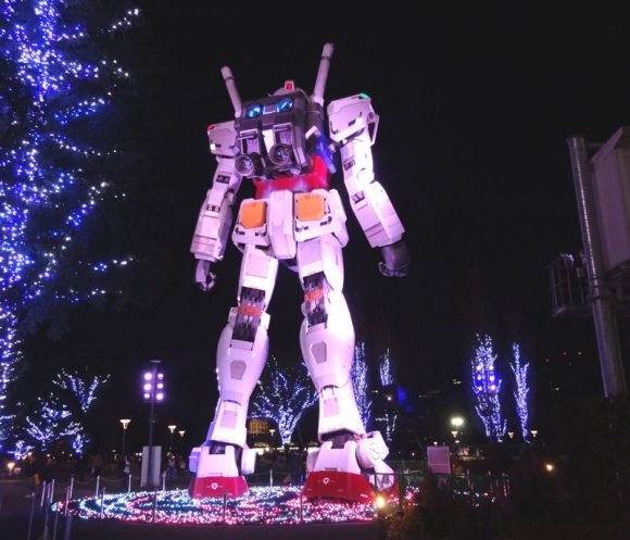09_ガンダム立像があるダイバーシティ東京でうる星やつら、めぞん一刻、犬夜叉のお酒を発見!