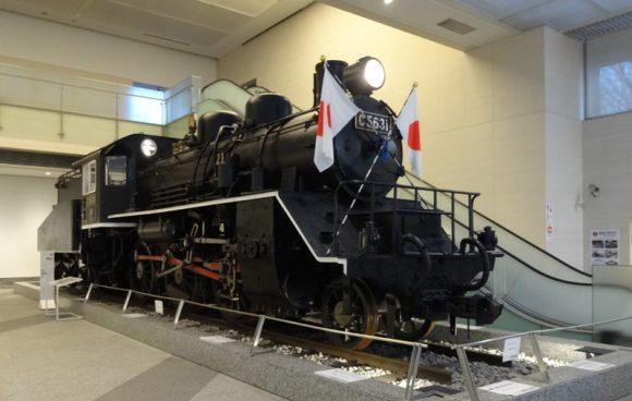 06_靖国神社の宝物館・博物館の遊就館は幕末から太平洋戦争までの戦争資料館【泰緬鉄道C56型31号機関車】