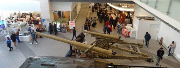 15_靖国神社の宝物館・博物館の遊就館は幕末から太平洋戦争までの戦争資料館