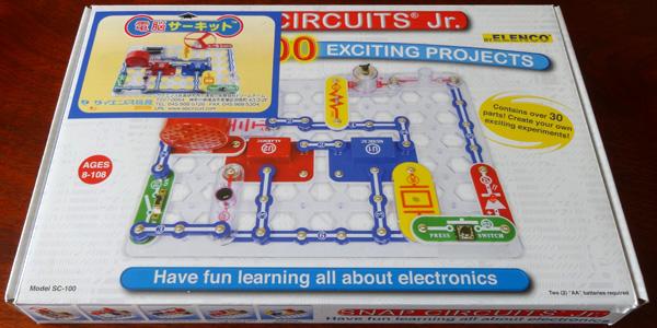 電脳サーキットは小学生が電気の仕組みを学べる電子回路の実験ブロック
