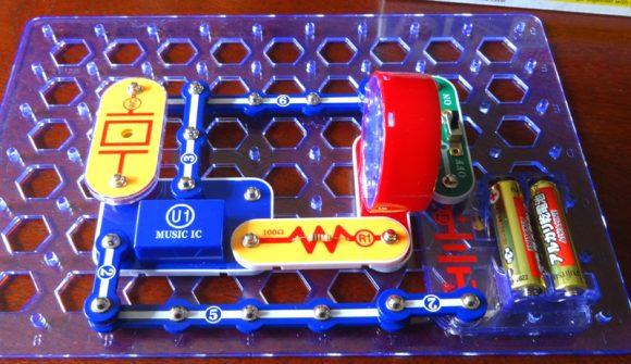 09_電脳サーキットは小学生が電気の仕組みを学べる電子回路の実験ブロック