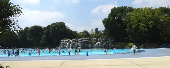 02_国営昭和記念公園・レインボープール2018年版・駐車場事情、前売り割引チケットの効果