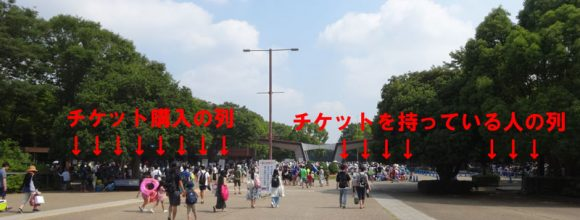 03_国営昭和記念公園・レインボープール2018年版・駐車場事情、前売り割引チケットの効果
