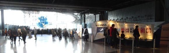 日本科学未来館の駐車場、ランチのレストラン、自動販売機、アクセスの情報まとめ・常設展