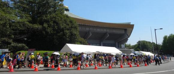 06_24時間テレビの武道館でやっている募金に行ってみた・長い長い列