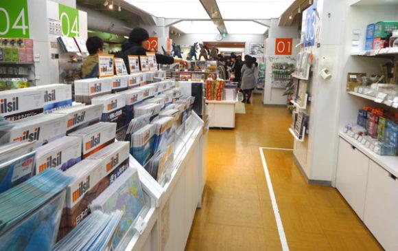 上野にある国立科学博物館のミュージアムショップ・国立科学博物館刊行の『自然と科学の情報誌「milsil(ミルシル)」』も販売されている