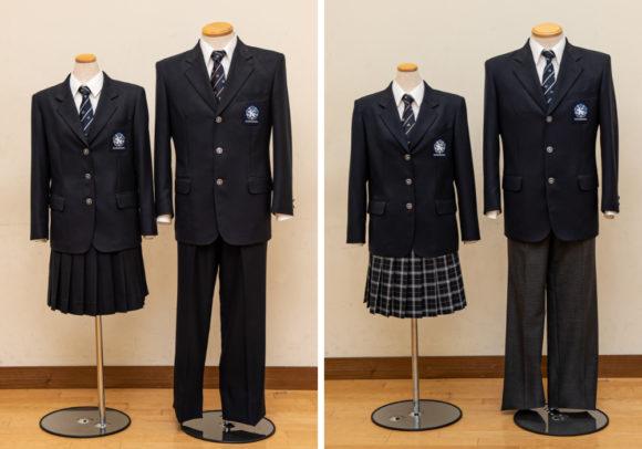 都立小石川中等教育学校の制服