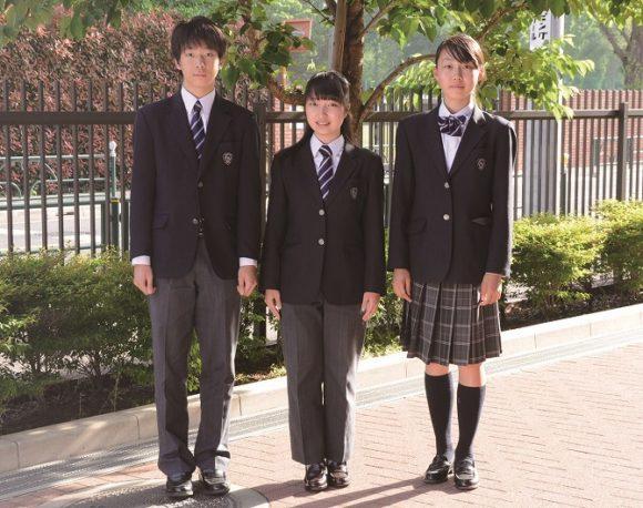都立立川国際中等教育学校の制服