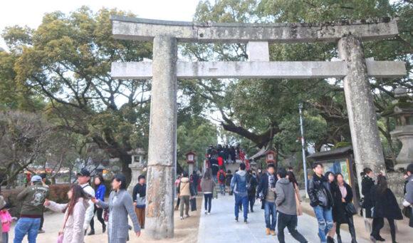 太宰府天満宮の太鼓橋は縁切り橋とも言われる